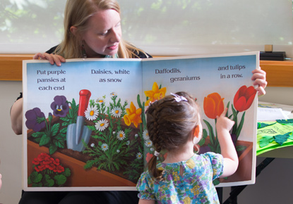 Toddler Story Time at the Northgate Branch