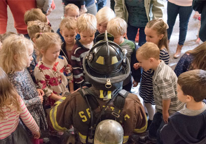 Firefighter Story Time