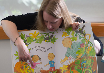 Toddler Story Time at the Beacon Hill Branch