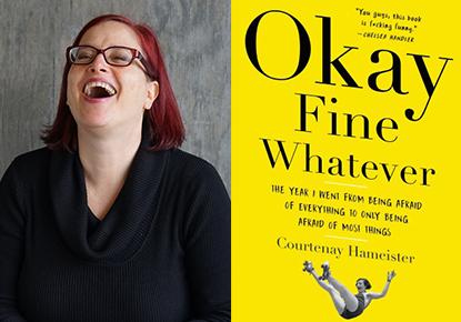 Courtenay Hameister and Luke Burbank talk about 'Okay Fine Whatever'