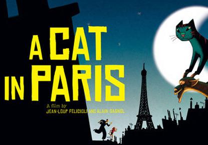 Winter Break Movie: 'A Cat in Paris'