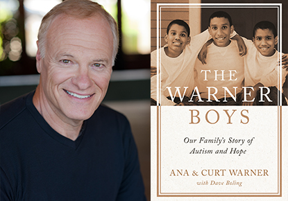 Ana and Curt Warner discuss 'The Warner Boys'