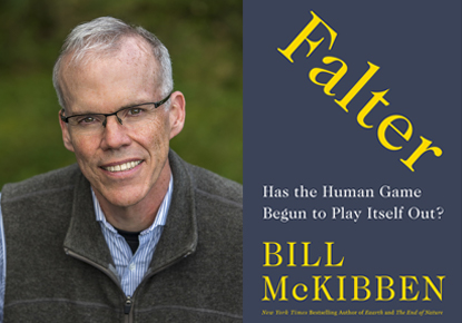 Bill McKibben discusses Falter