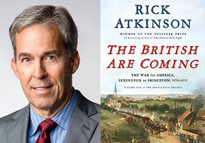 "Historian Rick Atkinson reads from ""The British Are Coming"""