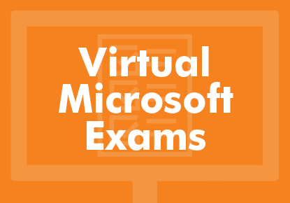 Virtual Microsoft certification exams (MOS, MTA, and MTCs)