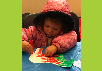 Drop-in Preschool Art / Escuelita de arte para pre-escolares