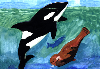 Let's Paint an Orca: A NW Coast Native Art Workshop