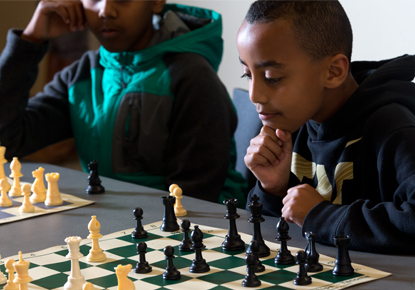 Drop-in Chess for Youth