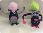 See Art/Make Art: Felted Monsters With Lene Sangster