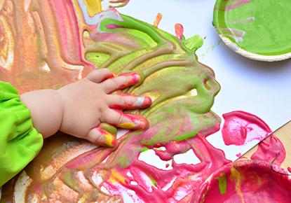 Sensory and Edible Paint