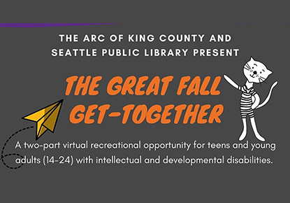 The Great Fall Get Together for Teens and Young Adults of All Abilities