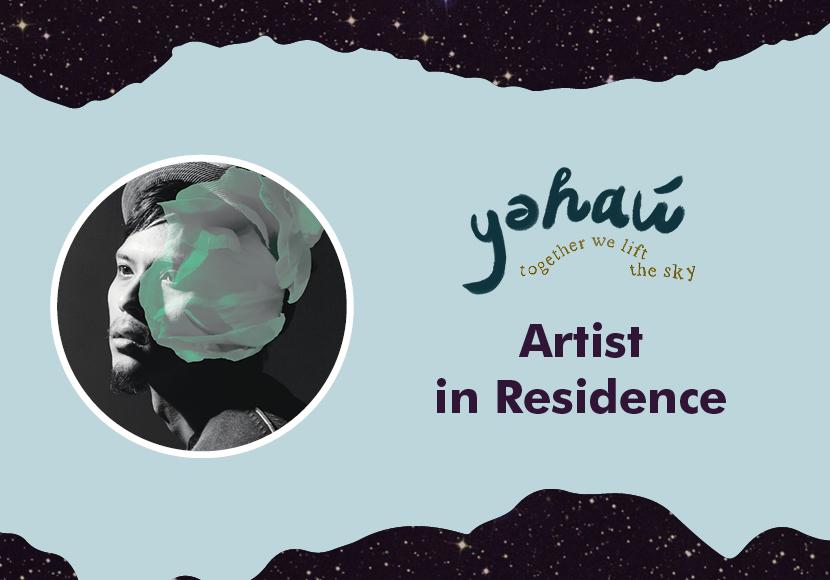yəhaw̓ Artist Residency - Roldy Aguero Ablao