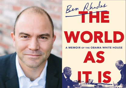 Ben Rhodes discusses 'The World As It Is'