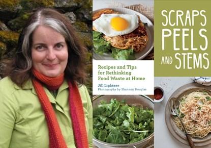 Author Jill Lightner Cooks at the West Seattle Farmers Market