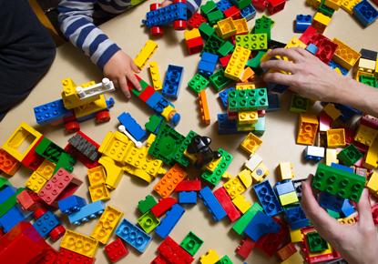 Craft Extravaganza and LEGOs
