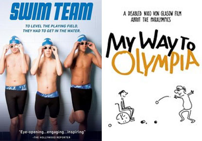 Double Screening Feature: 'My Way to Olympia' and 'Swim Team'