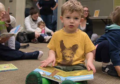 Toddler Story Time at the Northeast Branch