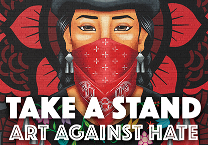 """Raven Chronicles presents """"Take a Stand: Art Against Hate"""""""