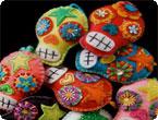 Dia de los Muertos: Calavera Cushions