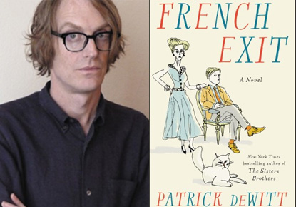 Patrick deWitt with Maria Semple